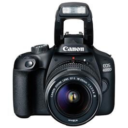 Canon EOS 4000D DSLR Body With EF-S 18-55mm III Lens Kit Thumbnail Image 1